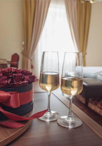 romantyczny weekend w hotelu